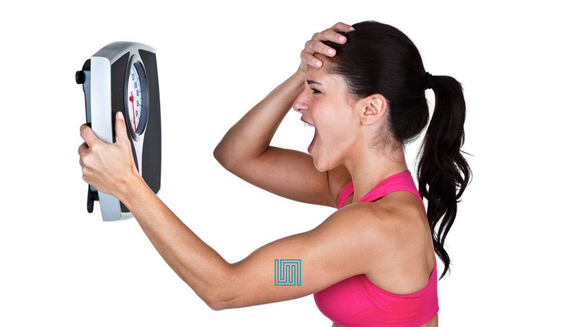 Stress e blocco del peso